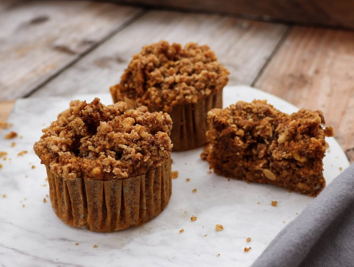 Carrot-Cake-Streusel-Muffins